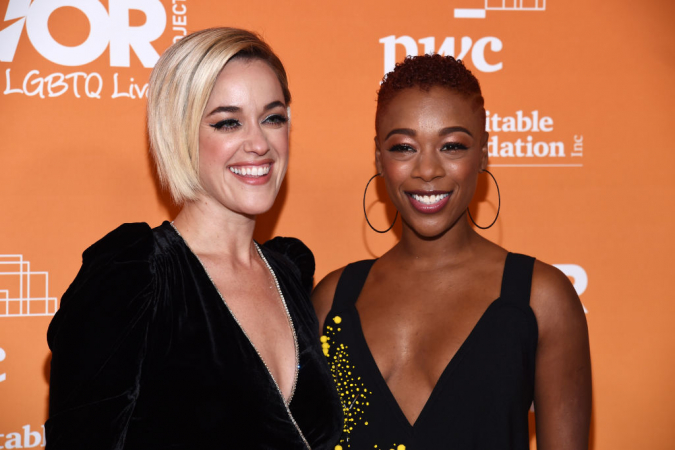 Samira Wiley (Poussey) et Lauren Morelli de 'Orange is The New Black'
