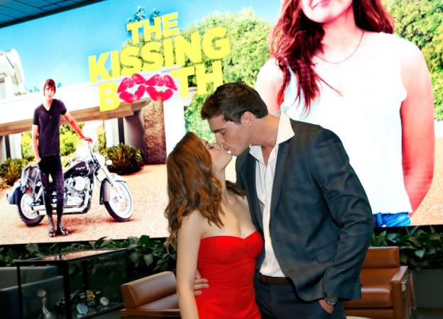 Joey King (Elle) et Jacob Elordi (Noah) de 'The Kissing Booth'