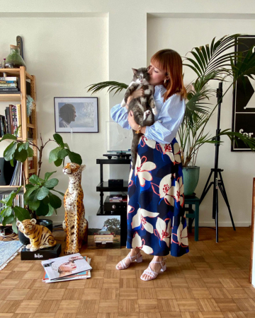 Moderedactrice Catherine (32) + kater Totoro (10)