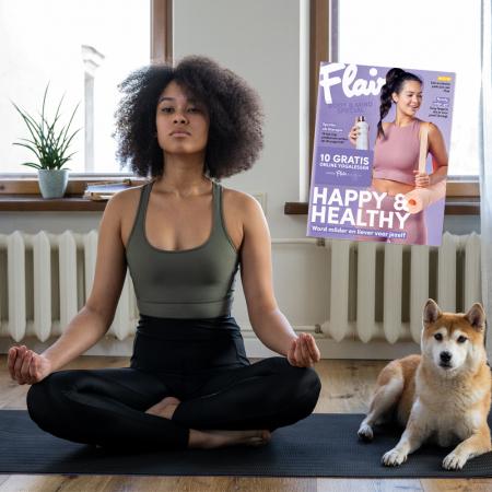 Ontspannende lectuur + gratis online yogasessies