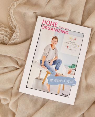 Le livre 'Home Organising' d'Elodie Wéry