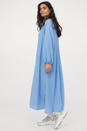 Helblauwe jurk