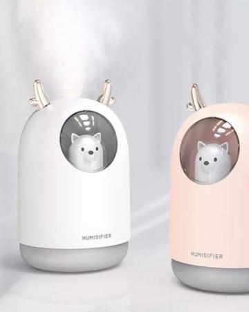 Luchtbevochtiger met katje