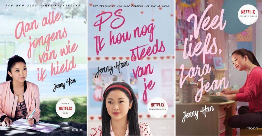 'Aan alle jongens van wie ik hield' uit de 'To All The Boys'-trilogie van Jenny Han