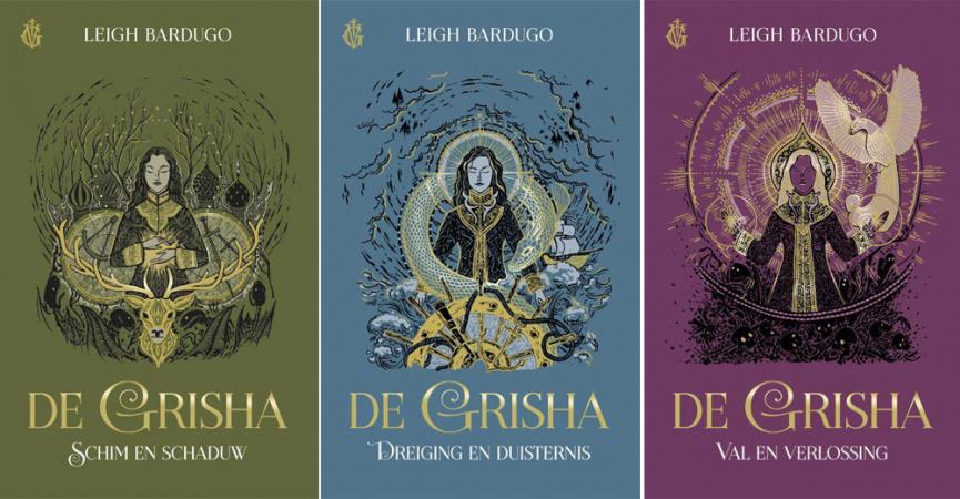 'De Grisha: Schim en schaduw' uit de 'De Grisha'-trilogie van Leigh Bardugo