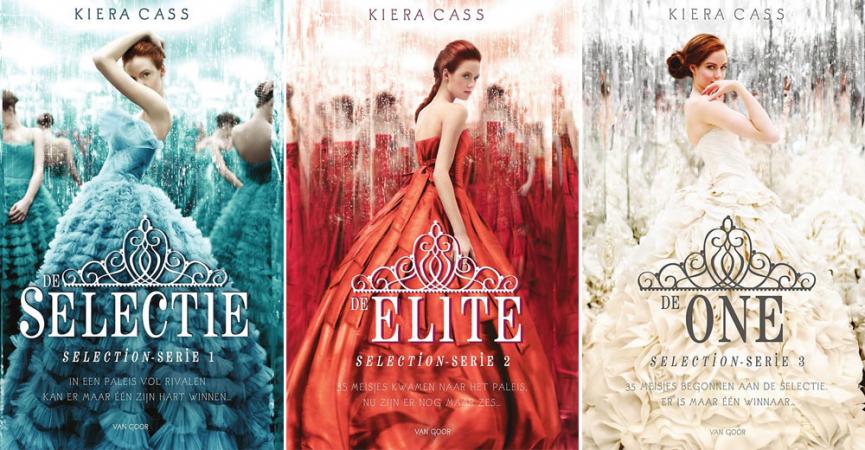 'De Selectie' uit 'Selection'-serie van Kiera Cass