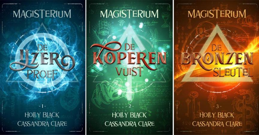 'De ijzerproef' uit de 'Magisterium'-reeks van Holly Black en Cassandra Clare
