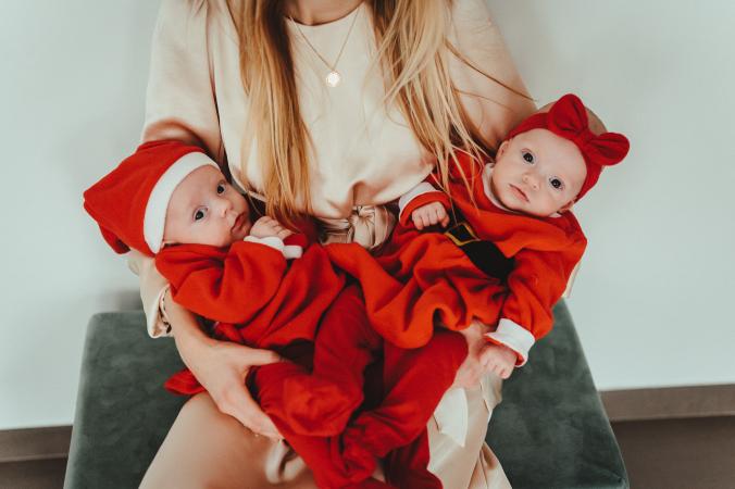 Kleine kerstvrouwtjes