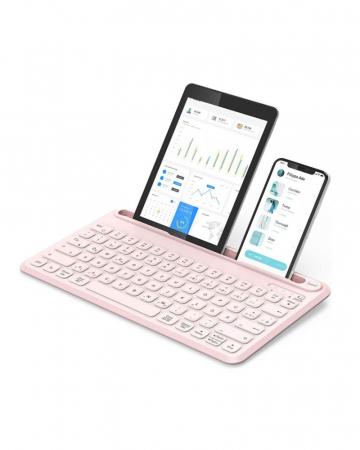 Draadloos toetsenbord voor tablet en smartphone