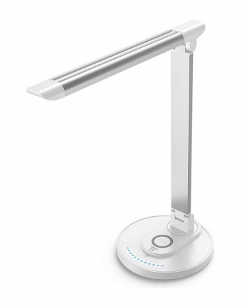 Led-lamp met draadloze oplader