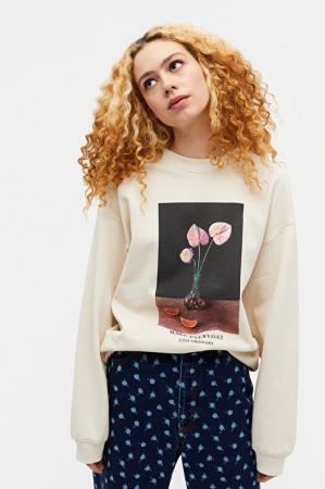 Sweater met bloemenprint