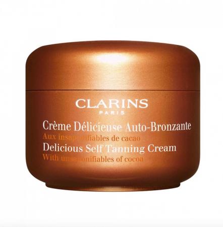 Crème délicieuse auto-bronzante – Clarins