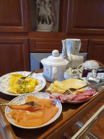 Le petit déjeuner