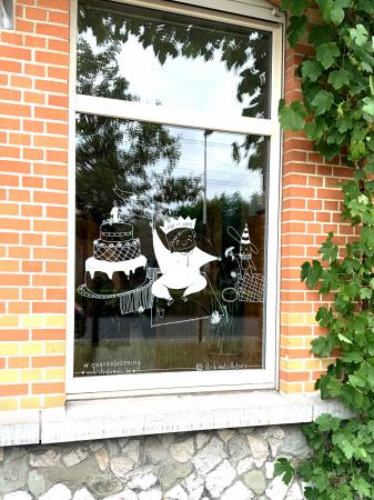 (K)raambezoeken met raamtekening