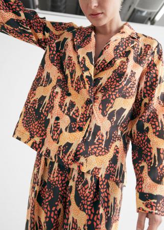 Blouse avec des girafes