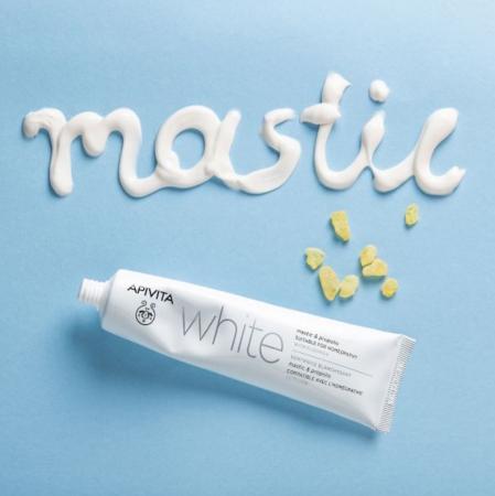 White Withening Toothpaste – Apivita