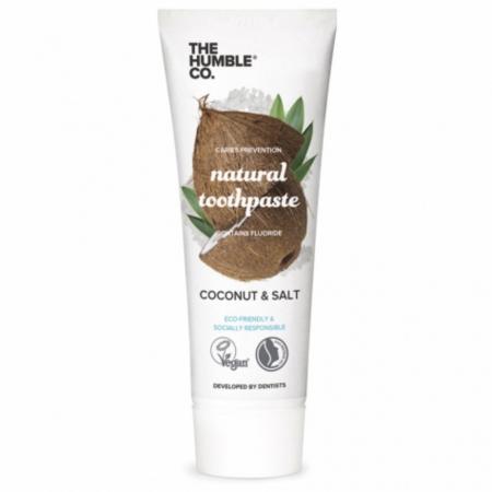 Dentifrice noix de coco et sel marin – The Humble Co