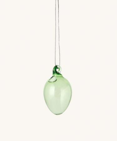 Decoratief paasei uit glas