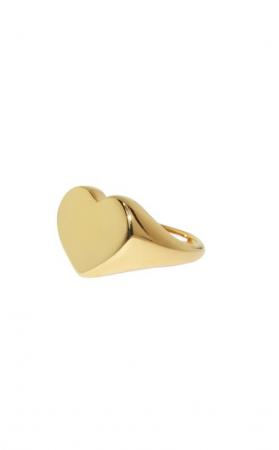 Ring in de vorm van een hart