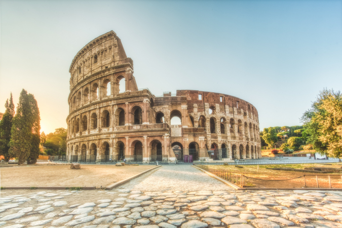 Le Colisée en Italie