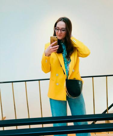 Online moderedactrice Chloë: 'Hoewel mijn stapel jeansbroeken best omvangrijk is, draag ik dit exemplaar het vaakst.'