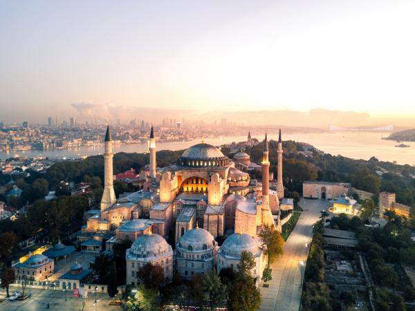 Sainte-Sophie en Turquie