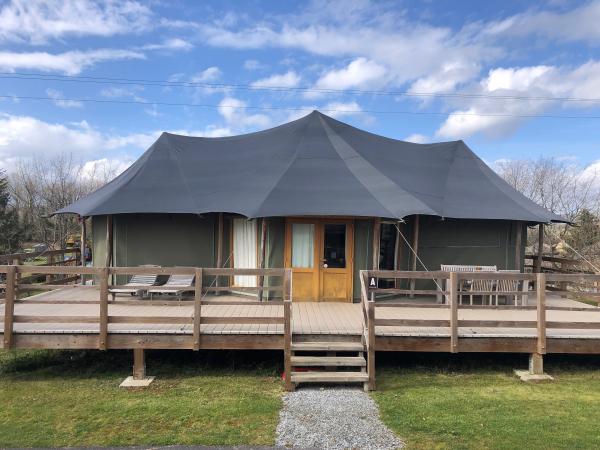 Notre séjour à Adventure Valley dans une tente Shaka