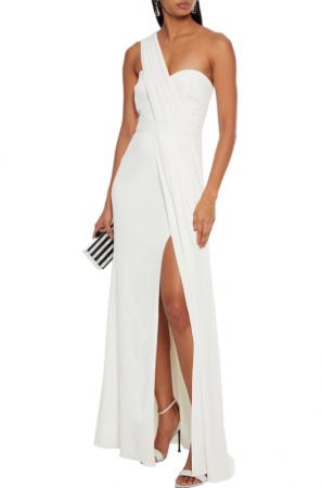 Robe de mariée asymétrique