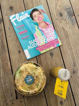 Met de bon die deze week bij Flair zit, word je bij Fitchen enorm in de watten gelegd met een volledig Fit-menu. Onze maag begint spontaan te rammelen…