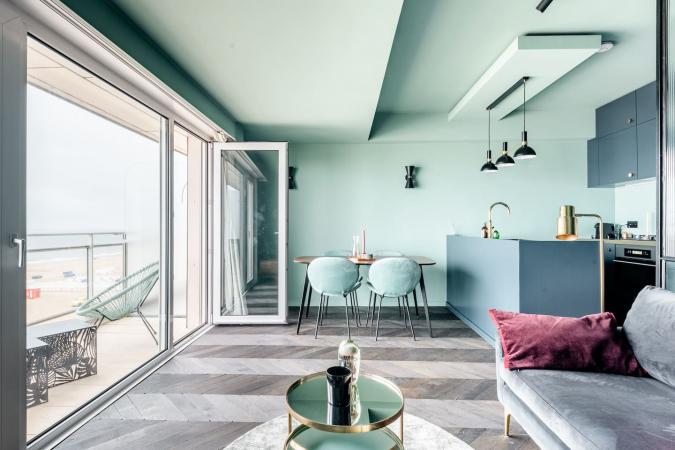 Appartement design avec vue sur la mer à Knokke-Heist