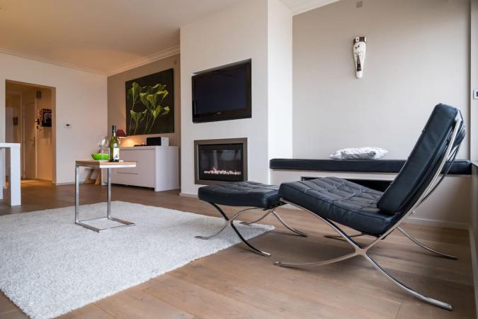 Appartement spacieux sur la digue d'Ostende