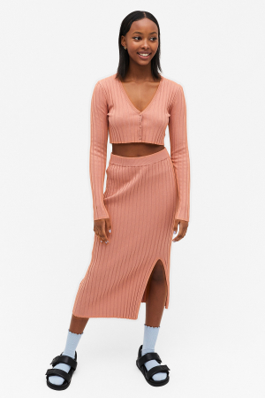 Ribbed two-piece