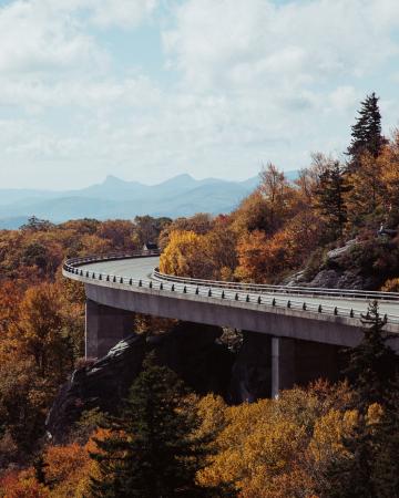 Blue Ridge Parkway, Etats-Unis