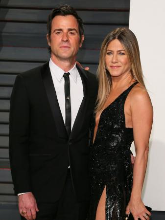 4. Justin Theroux et Jennifer Aniston