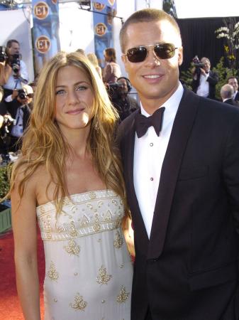 14. Brad Pitt et Jennifer Aniston