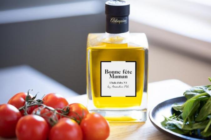 """L'huile d'olive """"Bonne fête maman"""""""