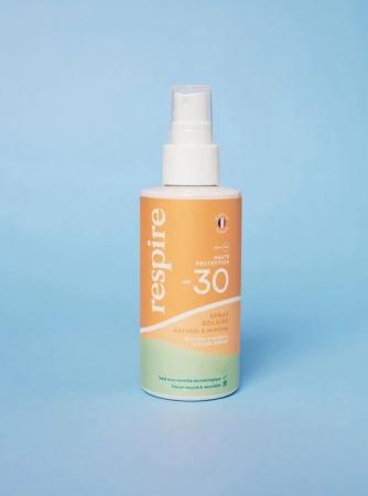 Spray Solaire Naturel & Minéral – Respire