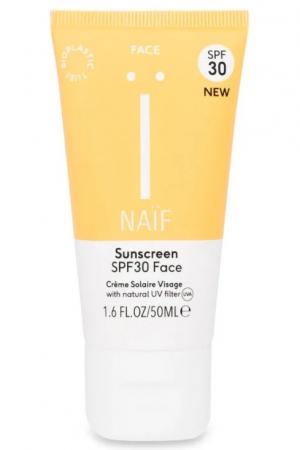 Sunscreen face SPF 30 – Naif