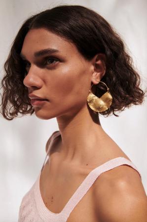 Boucles d'oreilles à anneaux