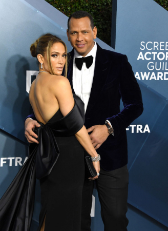 Jennifer Lopez et Alex Rodriguez