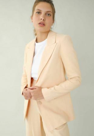 Zalmroze blazer