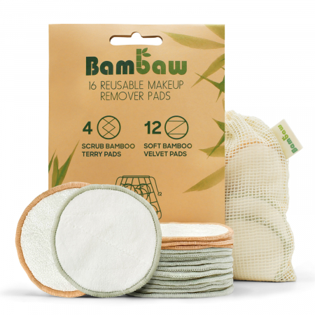 Wasbare wattenschijfjes van Bambaw (t.w.v. € 15,99)