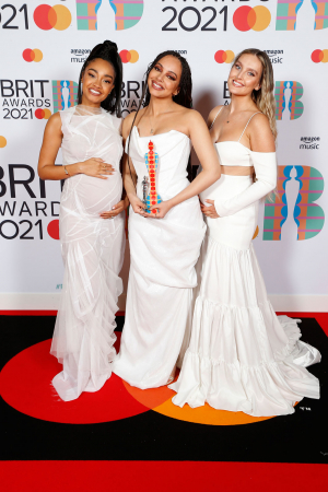 Leigh-Anne Pinnock, Jade Thirlwall en Perrie Edwards van Little Mix