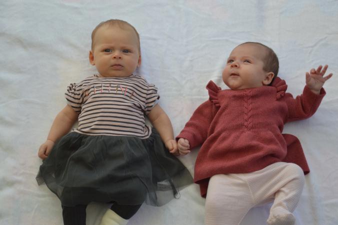 Louise en Nell