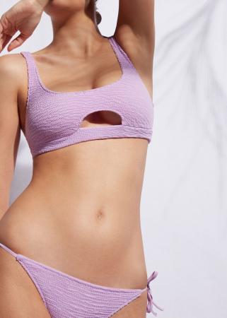 Bikini mauve pastel
