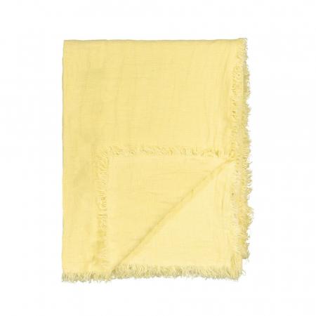 Plaid gewassen linnen