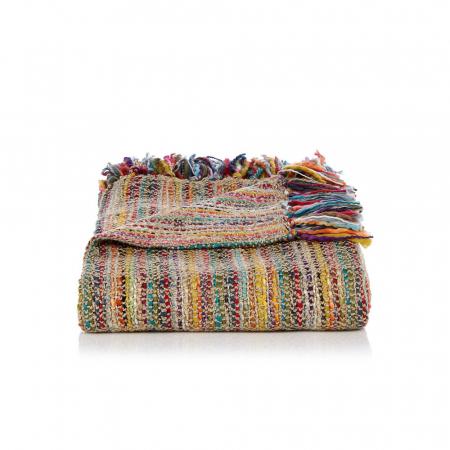 Kleurrijk deken