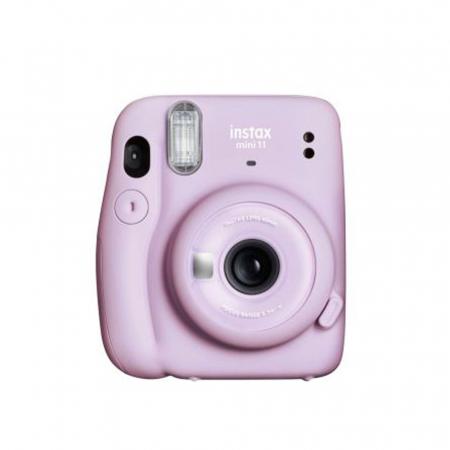 Lavendelkleurige Instaxcamera