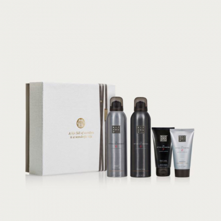 Cadeaubox met 2 x doucheschuim, body moisturizer en scheercrème