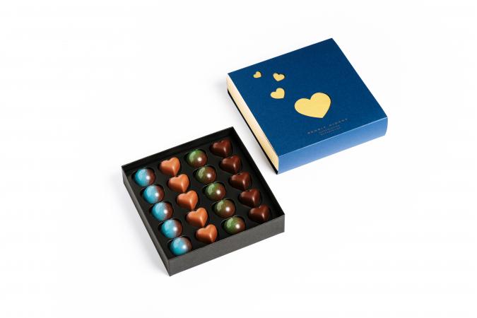Une boîte de chocolats Benoît Nihan